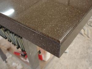 Обработка кромки искусственный камень