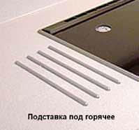 Подставка под горячее из прямых прутков