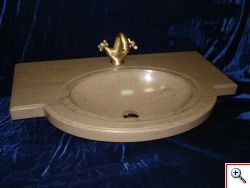 01.02.2012: Начато серийное производство раковин из искусственного камня для ванной комнаты