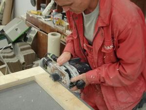 Фрезерование искусственного камня